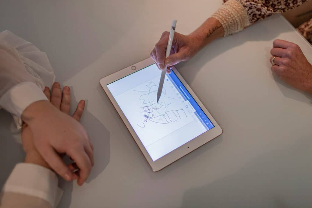 Anamnese osteopathie tekening bekken