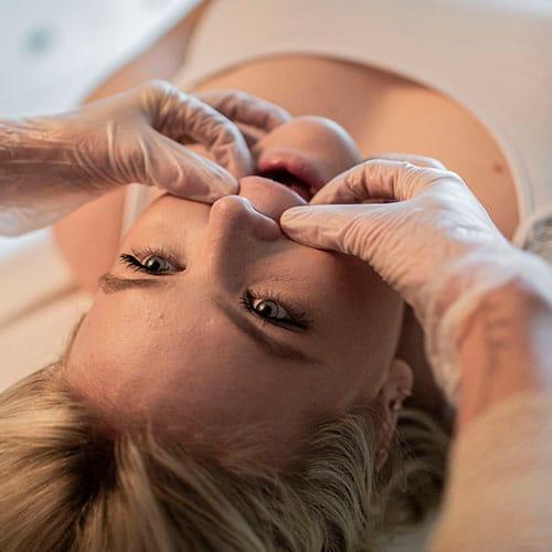 Dentale behandeling osteopaat Colette