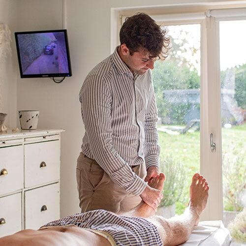 Osteopathische behandeling van de voet