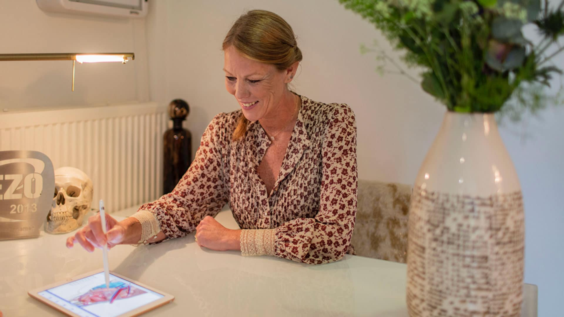 Osteopaat Colette Peeters anamnese
