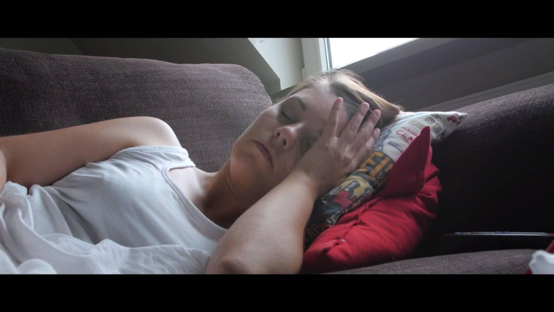 Endometriose patiënt met pijn